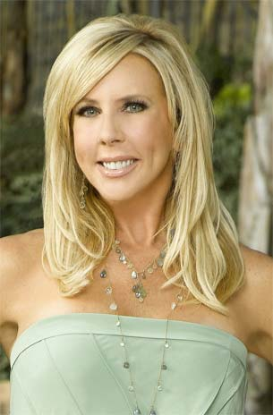 Vicki's Hair from The Real Housewives of Orange County